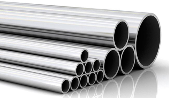Comércio de tubos de aço