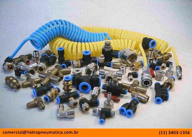 Tubos e conexões pneumáticas